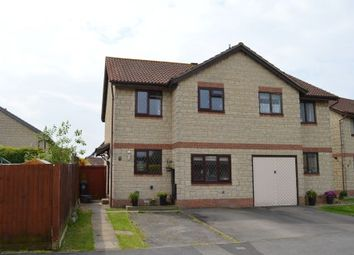 Thumbnail 3 bed semi-detached house for sale in Locksbrook Road, North Worle, Weston-Super-Mare
