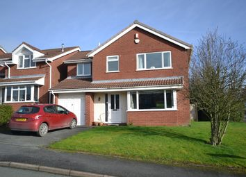 Thumbnail 4 bed detached house for sale in Ludford Close, Newcastle-Under-Lyme