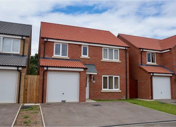 Thumbnail 4 bed detached house for sale in Cupola Close, North Hykeham