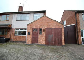 Thumbnail 3 bed semi-detached house for sale in Stafford Close, Bulkington, Bedworth