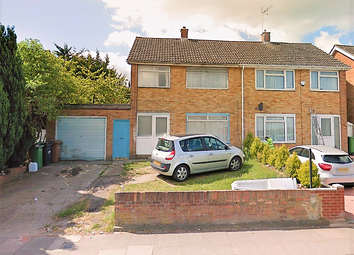 Thumbnail 3 bed semi-detached house to rent in Tomlinson Avenue, Luton