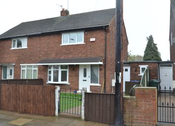 Thumbnail 2 bed semi-detached house to rent in Burns Road, Doncaster