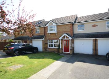Thumbnail 3 bed terraced house to rent in Decouttere Close, Church Crookham, Fleet
