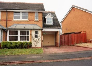 Thumbnail 3 bed semi-detached house to rent in Kilsby Grove, Solihull