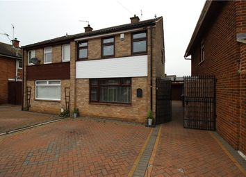 Thumbnail 3 bed semi-detached house for sale in Denstone Drive, Alvaston, Derby