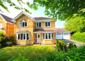 Thumbnail 4 bed detached house for sale in Carnation Close, Leicester Forest East, Leicester