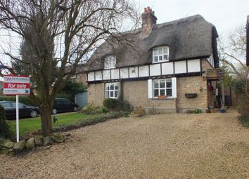 Thumbnail 2 bed semi-detached house for sale in High Street, Bluntisham, Huntingdon