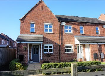 Thumbnail 3 bed end terrace house for sale in Ward Close, Fradley, Lichfield
