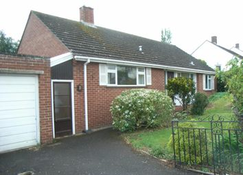 Thumbnail 3 bed detached bungalow to rent in Broadparks Avenue, Pinhoe, Exeter