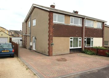 Thumbnail 3 bed semi-detached house for sale in Milford Avenue, Wick, Bristol