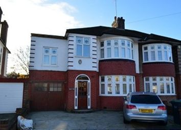 Thumbnail 4 bed property to rent in Firs Park Avenue, London