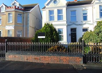 Thumbnail 6 bed semi-detached house for sale in Queen Victoria Road, Llanelli Town Centre, Llanelli, Carms
