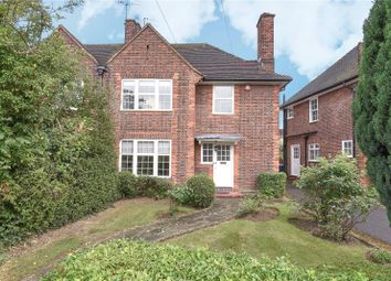 Thumbnail 3 bed semi-detached house for sale in Woodhall Gate, Pinner, Middlesex