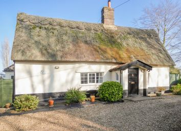 Thumbnail 3 bed cottage for sale in Tooks Common Lane, Ilketshall St. Andrew, Beccles