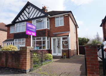 Thumbnail 3 bed semi-detached house for sale in Trowell Avenue, Wollaton