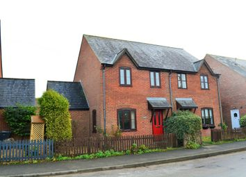 Thumbnail 3 bed semi-detached house to rent in Marlborough Road, Ogbourne St. George, Marlborough