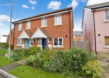 Thumbnail 2 bedroom semi-detached house for sale in Woodpeckers, Sudbury