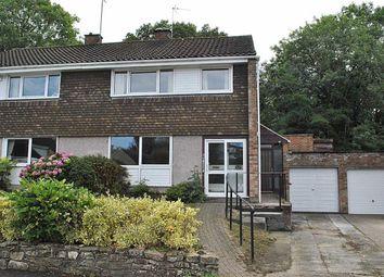 Thumbnail 3 bed semi-detached house to rent in Hazel Gardens, Alveston, Bristol