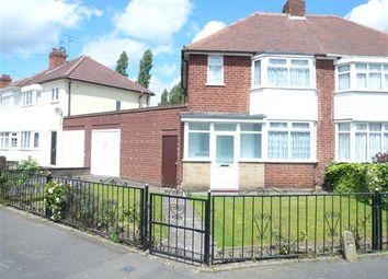 Thumbnail 3 bedroom semi-detached house for sale in Colman Avenue, Wednesfield, Wednesfield