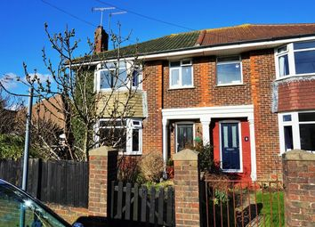 Thumbnail 4 bed semi-detached house for sale in Dawes Avenue, Worthing