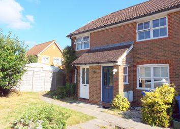 Thumbnail 2 bedroom end terrace house for sale in Hop Garden, Church Crookham, Fleet