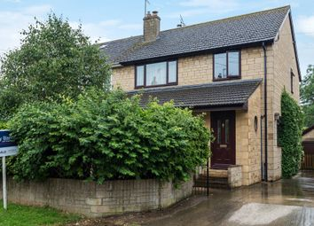 Thumbnail 3 bedroom semi-detached house for sale in Church Road, Leonard Stanley, Stonehouse