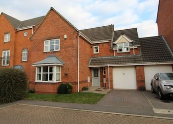 Thumbnail 4 bed detached house for sale in Brouder Close, Coalville