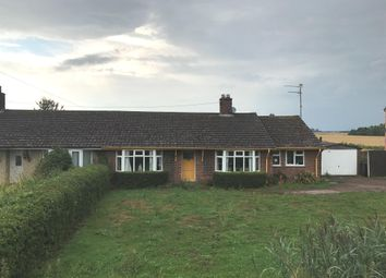 Thumbnail 3 bed semi-detached bungalow for sale in Downham Road, Salters Lode, Downham Market