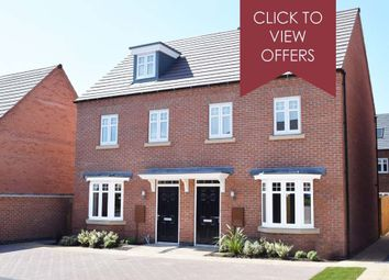 """Thumbnail 3 bed end terrace house for sale in """"Kennett"""" at Walton Road, Drakelow, Burton-On-Trent"""