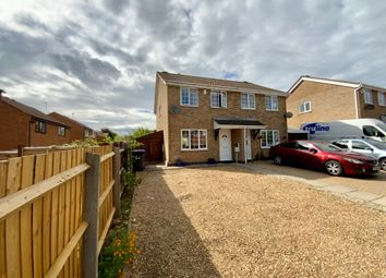 Thumbnail 3 bed semi-detached house for sale in East Rising, Wootton, Northampton