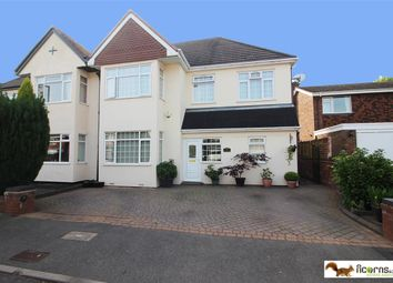 Thumbnail 5 bed semi-detached house for sale in Fernleigh Road, Walsall