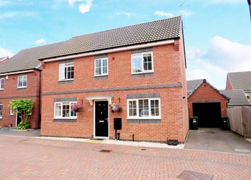 Thumbnail Detached house for sale in Clarke Crescent, Countesthorpe, Leicester