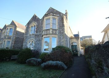 Thumbnail 1 bed flat for sale in Bellevue Road, Clevedon