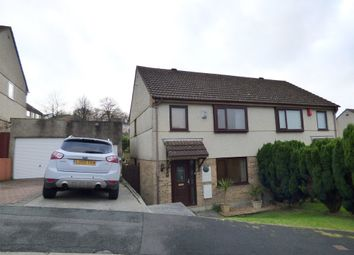 Thumbnail 3 bed semi-detached house for sale in Dunster Close, Plympton, Plymouth
