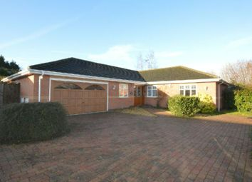 Thumbnail 4 bed detached bungalow for sale in Newby Close, Whetstone, Leicester