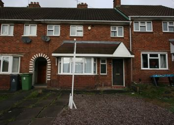 Thumbnail 3 bedroom terraced house for sale in Lister Road, Walsall