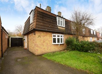 Thumbnail 3 bed semi-detached house for sale in Queensway, Ongar, Essex