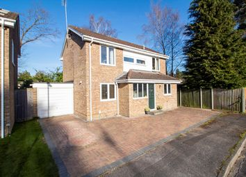 Thumbnail 4 bed detached house for sale in Vivian Close, Church Crookham, Fleet
