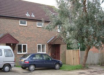 Thumbnail 1 bed terraced house to rent in Leybourne Close, Pease Pottage, Crawley