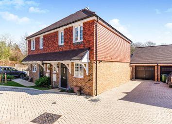 Thumbnail 2 bed semi-detached house for sale in Ridgeway, Haywards Heath
