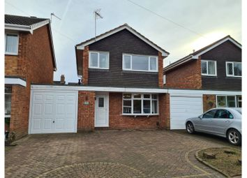 Burns Close, Lichfield WS14. 3 bed link-detached house for sale
