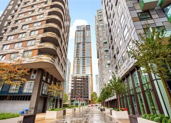 Thumbnail 2 bed flat for sale in Maine Tower, Harbour Central, Canary Wharf, London