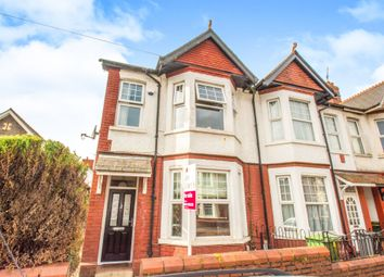 Thumbnail 3 bedroom end terrace house for sale in Belle Vue Crescent, Llandaff North, Cardiff