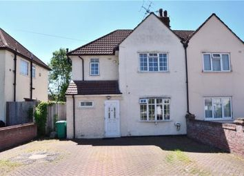 Thumbnail 3 bed semi-detached house for sale in Manor Waye, Uxbridge, Middlesex