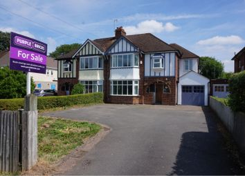 Thumbnail 4 bed semi-detached house for sale in Warwick Road, Kenilworth