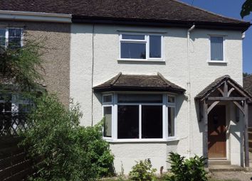 Thumbnail 3 bedroom semi-detached house to rent in Witney Road, Witney, Oxfordshire