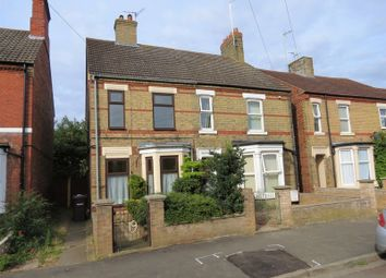 Thumbnail 3 bed semi-detached house for sale in Huntly Grove, Peterborough