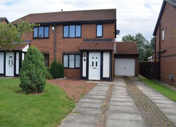 Thumbnail 3 bed semi-detached house for sale in Monkridge, North Walbottle, Newcastle Upon Tyne, Tyne And Wear
