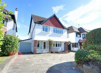 Thumbnail 4 bed detached house for sale in Leasway, Westcliff On Sea, Essex