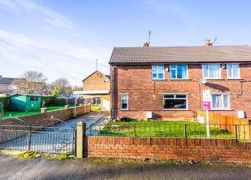 Thumbnail 3 bed semi-detached house for sale in Holywell Crescent, Braithwell, Rotherham